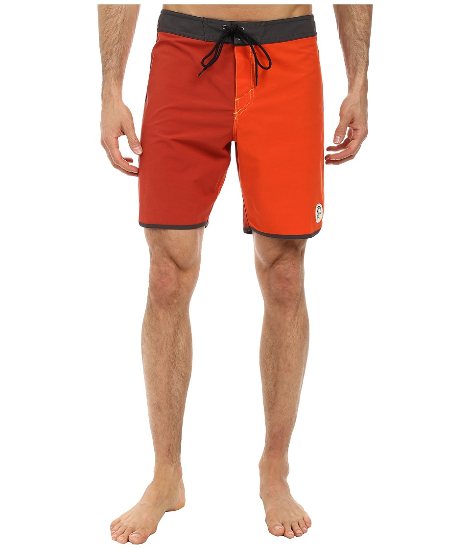 O'Neill - Santa Cruz Original Scallop Boardshorts (Clay) Men's Swimwear