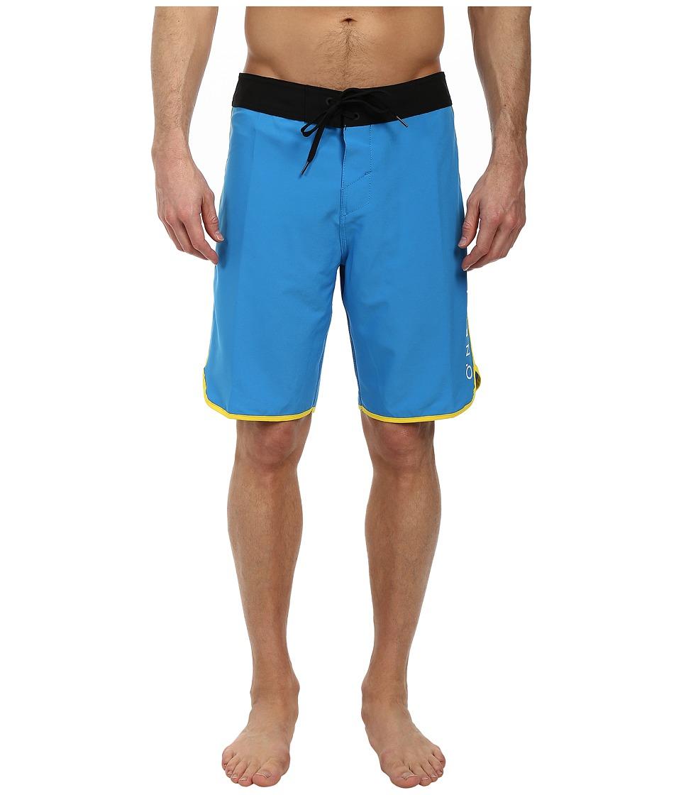 O'Neill - Santa Cruz Scallop Boardshorts (Blue) Men's Swimwear