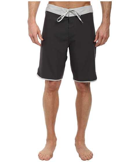 O'Neill - Santa Cruz Scallop Boardshorts (Charcoal) Men's Swimwear