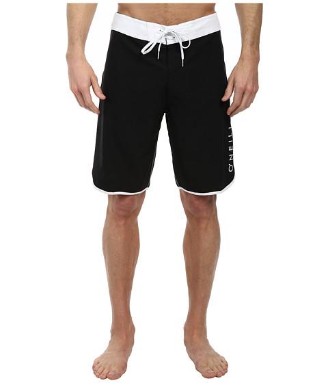 O'Neill - Santa Cruz Scallop Boardshorts (Black) Men's Swimwear