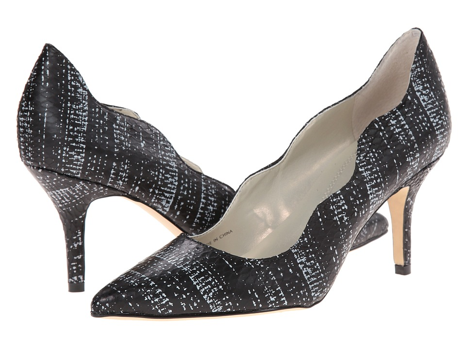 Tahari - Candela (Black/White Snake) High Heels