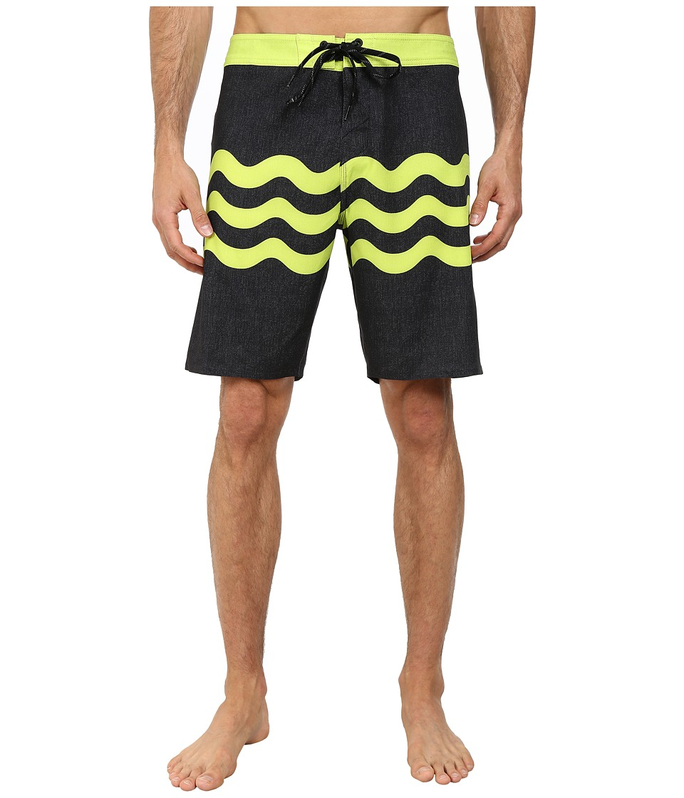 O'Neill - Freak Fourteen Boardshorts (Black) Men's Swimwear