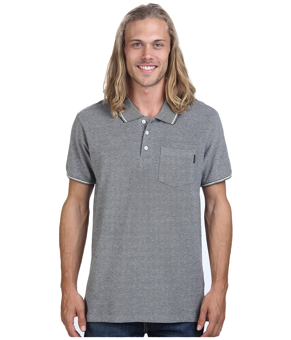O'Neill - Maritime Polo Knits (Black) Men's Short Sleeve Knit