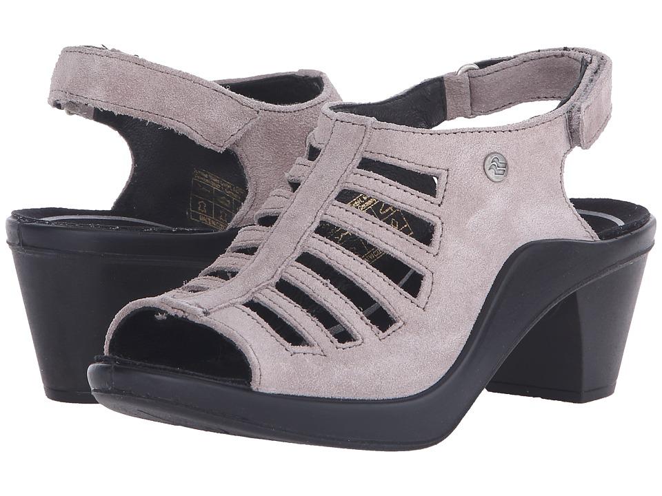 Romika - Mokassetta 287 (Taupe Kid Suede) Women's Clog/Mule Shoes