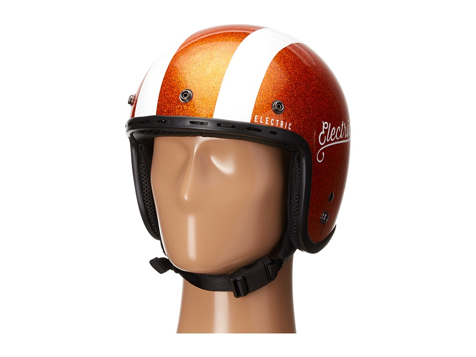 Electric Eyewear - Mashman (Tangerine Flake/Stripe) Snowboards Sports Equipment