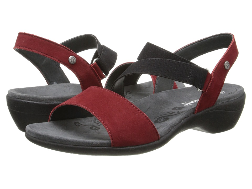 Romika - Palma 03 (Red Cow Nubuk) Women's Shoes