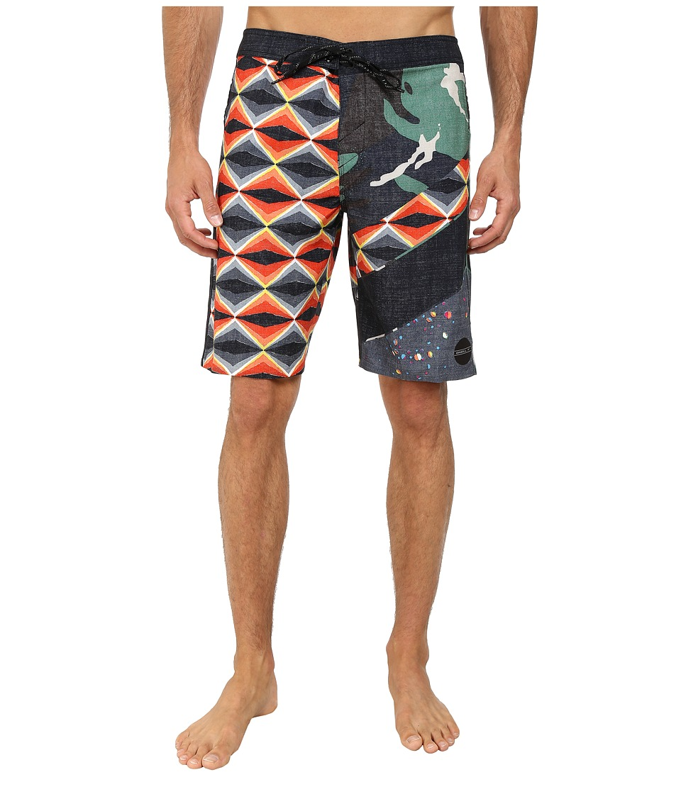 O'Neill - Jordy Freakout Superfreak Series Boardshort (Orange) Men's Swimwear