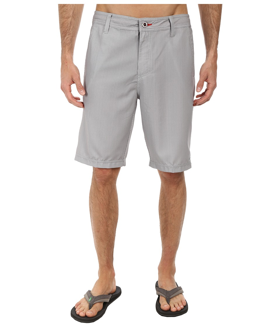 O'Neill - Hadouken Hybrid Boardshorts (Grey) Men's Swimwear