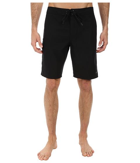 O'Neill - Santa Cruz Solid Boardshorts (Black) Men's Swimwear