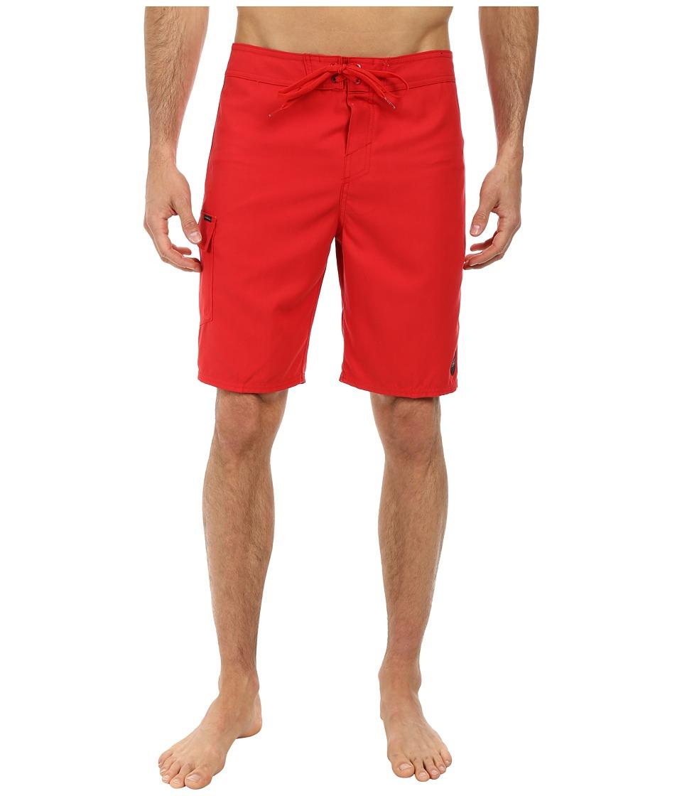 O'Neill - Santa Cruz Solid Boardshorts (Red) Men's Swimwear