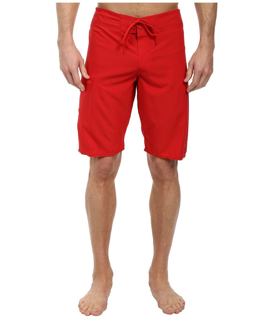 O'Neill - Santa Cruz Stretch Boardshorts (Red) Men's Swimwear