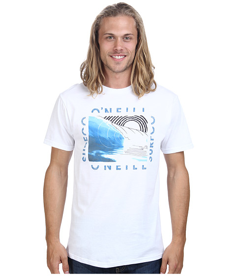 O'Neill - Strands S/S Screen Tee (White) Men's T Shirt