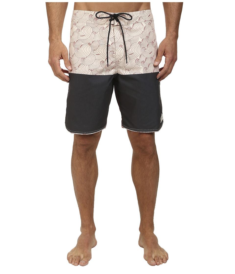 O'Neill - Shelled Out Boardshorts (Black) Men's Swimwear