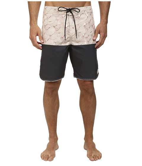 O'Neill - Shelled Out Boardshorts (Black) Men's Swimwear