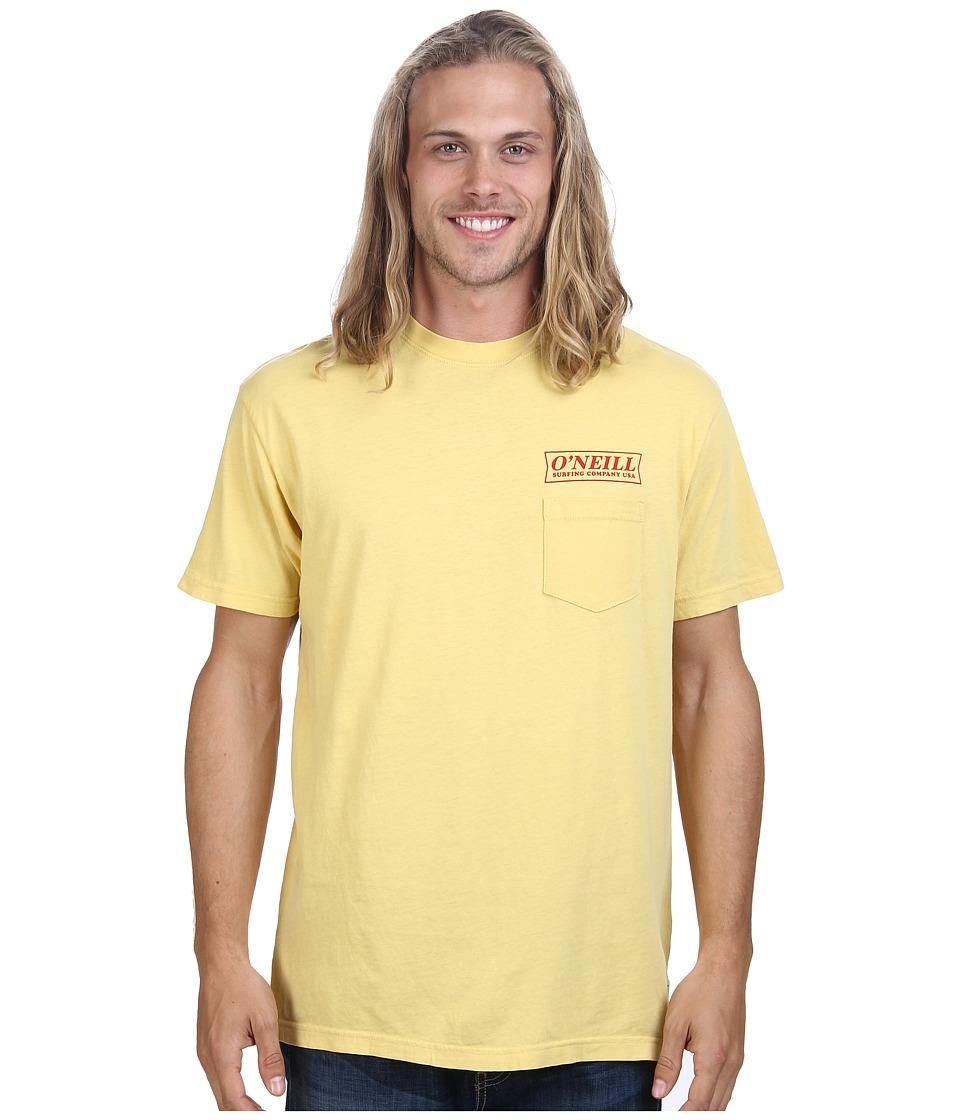 O'Neill - Team S/S Screen Tee (Bamboo) Men's T Shirt