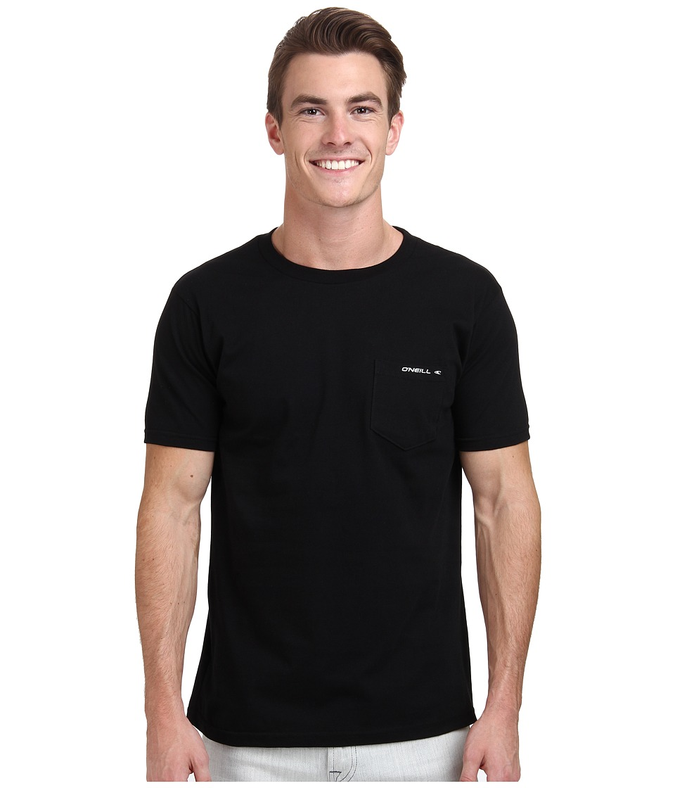 O'Neill - The Code S/S Screen Tee (Black) Men's T Shirt