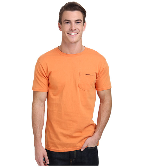 O'Neill - The Code S/S Screen Tee (Orange) Men's T Shirt