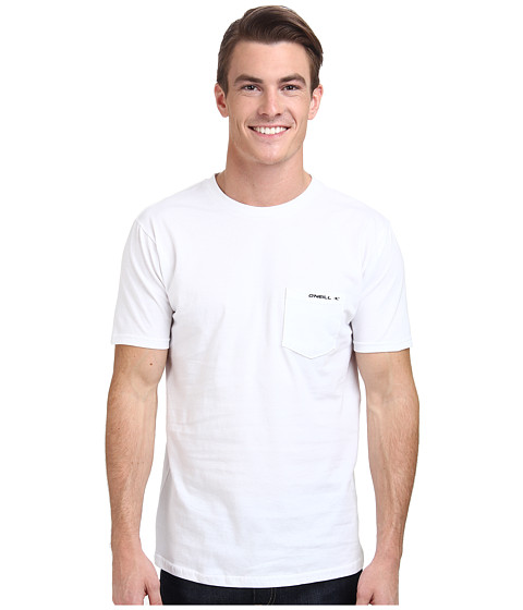 O'Neill - The Code S/S Screen Tee (White) Men's T Shirt