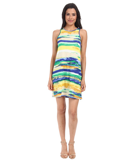 Gabriella Rocha - Nikki Jersey Shift Dress (Green Stripe) Women