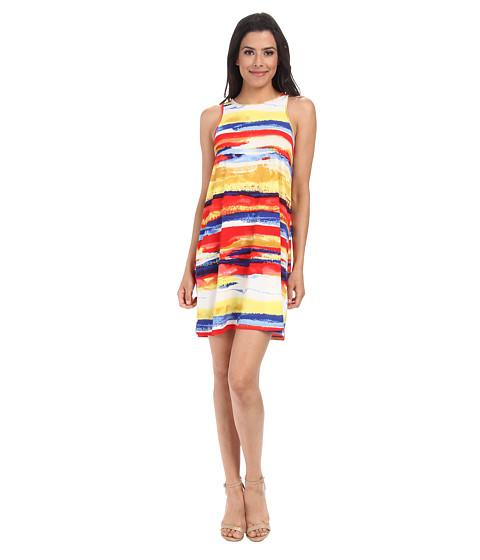 Gabriella Rocha - Nikki Jersey Shift Dress (Red Stripe) Women's Dress