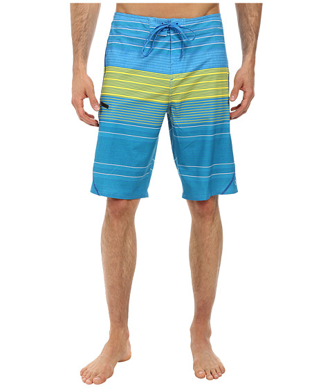 O'Neill - Stripe Freak Boardshorts (Blue) Men's Swimwear