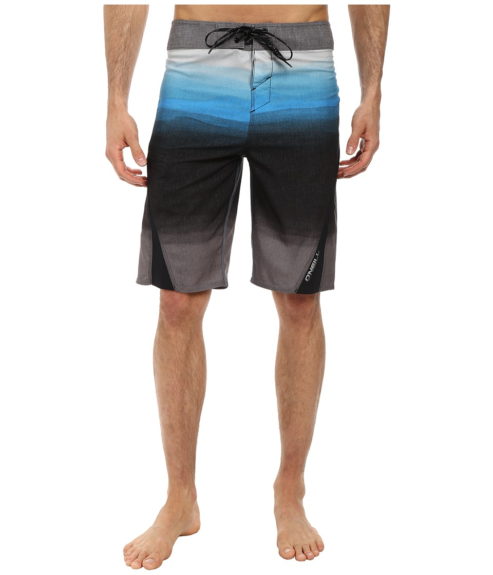 O'Neill - Superfreak Fader Superfreak Series Boardshort (Black) Men's Swimwear