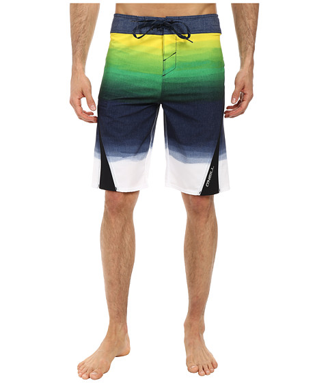 O'Neill - Superfreak Fader Superfreak Series Boardshort (Yellow) Men's Swimwear