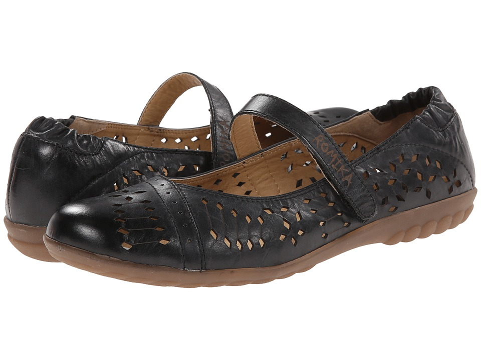 Romika - Bahamas 103 (Black Road) Women's Maryjane Shoes