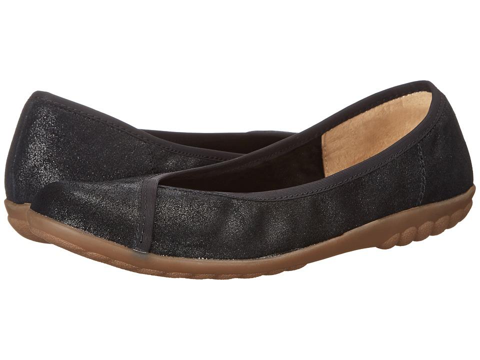 Romika - Bahamas 101 (Black Glitter) Women's Slip on Shoes