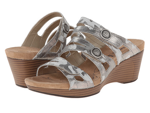 Romika - Jamaika 02 (Grey Camouflage Suede) Women's Sandals