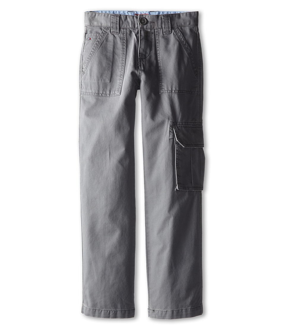 Tommy Hilfiger Kids - One Pocket Cargo Pant (Big Kids) (As Is Grey) Boy's Casual Pants