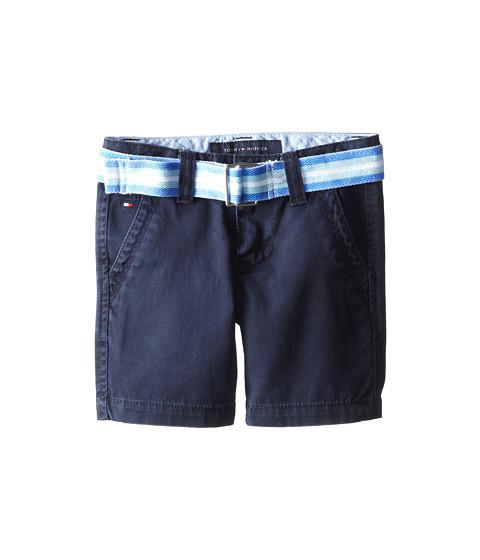 Tommy Hilfiger Kids - Twill Short Printed Belt (Toddler/Little Kid) (Blue Bikini) Boy
