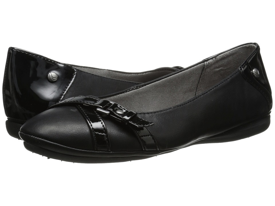 LifeStride - Addy (Black) Women's Slip on Shoes