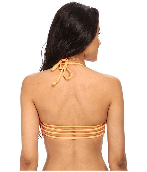 Body Glove - Smoothies Mika Halter Triangle Top (Wildfire) Women's Swimwear