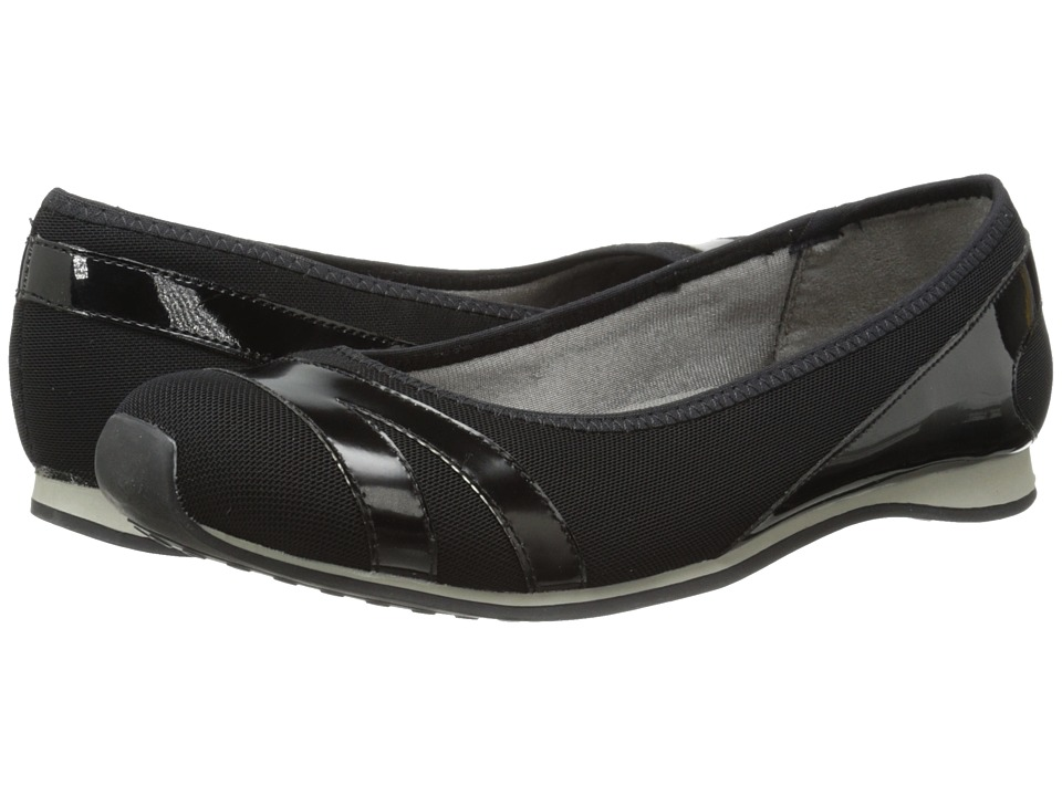 LifeStride - Fast (Black) Women's Slip on Shoes