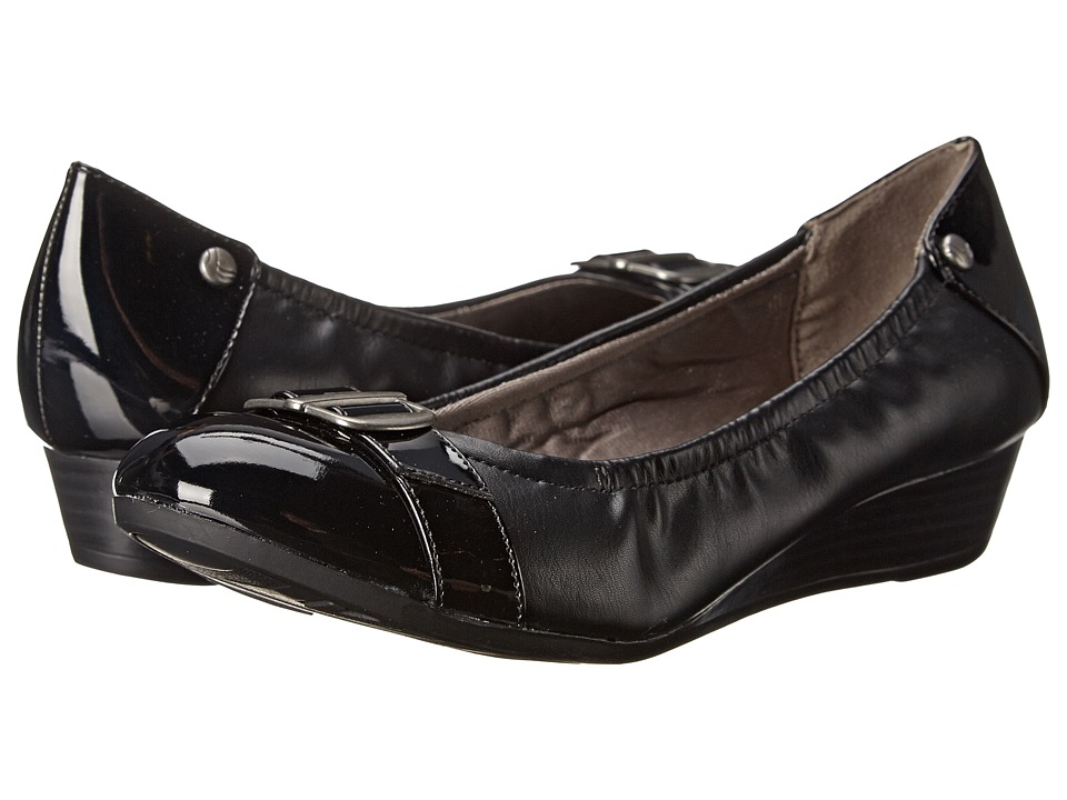 LifeStride - Fran (Black) Women's Slip-on Dress Shoes