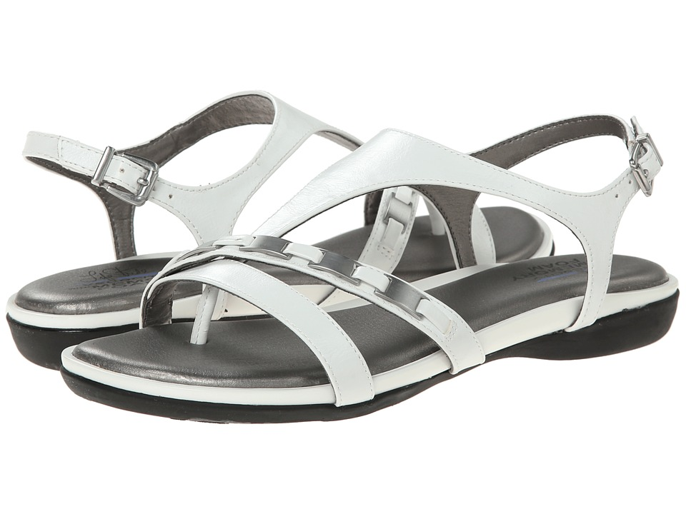 LifeStride - Impress (White) Women's Sandals