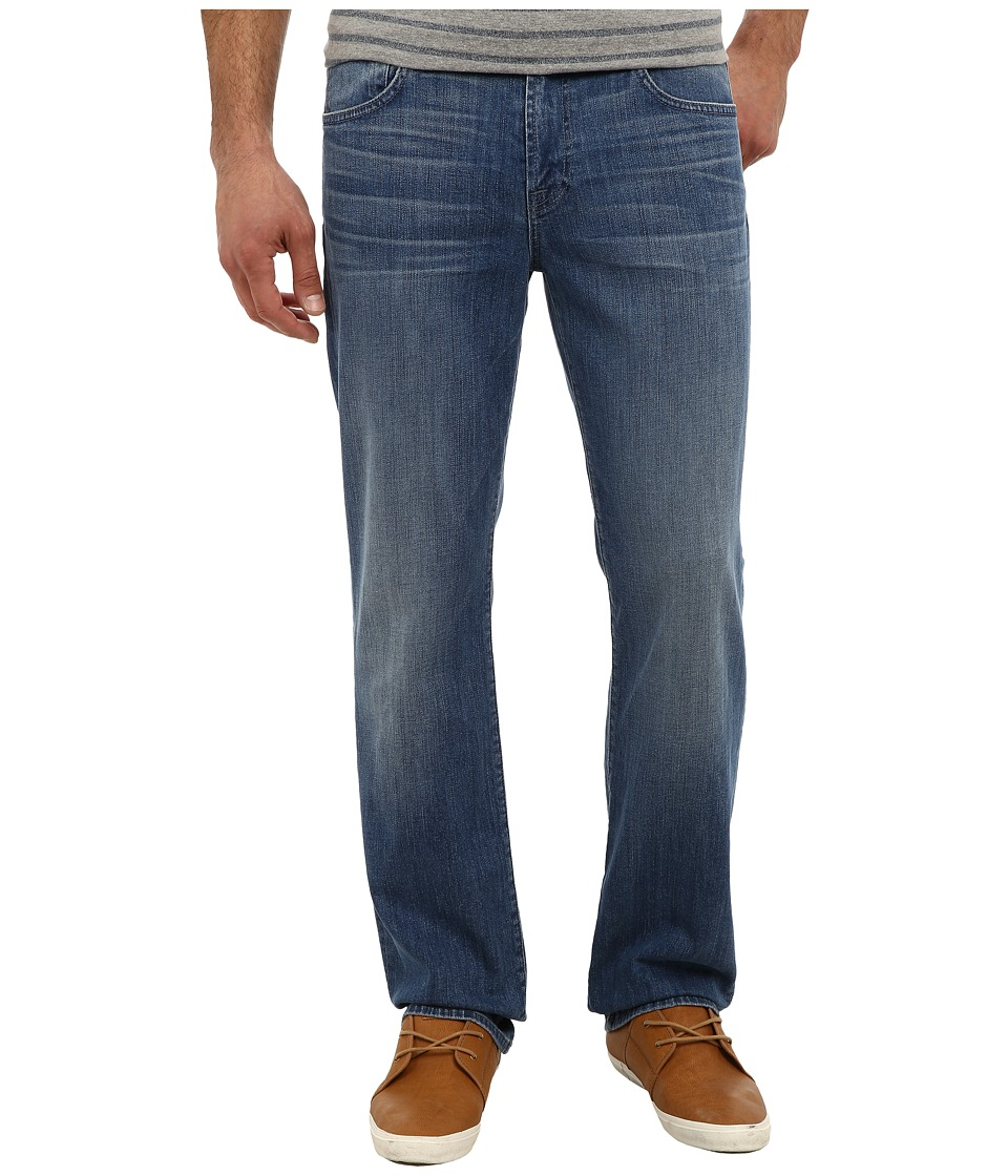 7 For All Mankind - Luxe Performance Carsen Easy Straight in Blue Mist (Blue Mist) Men's Jeans