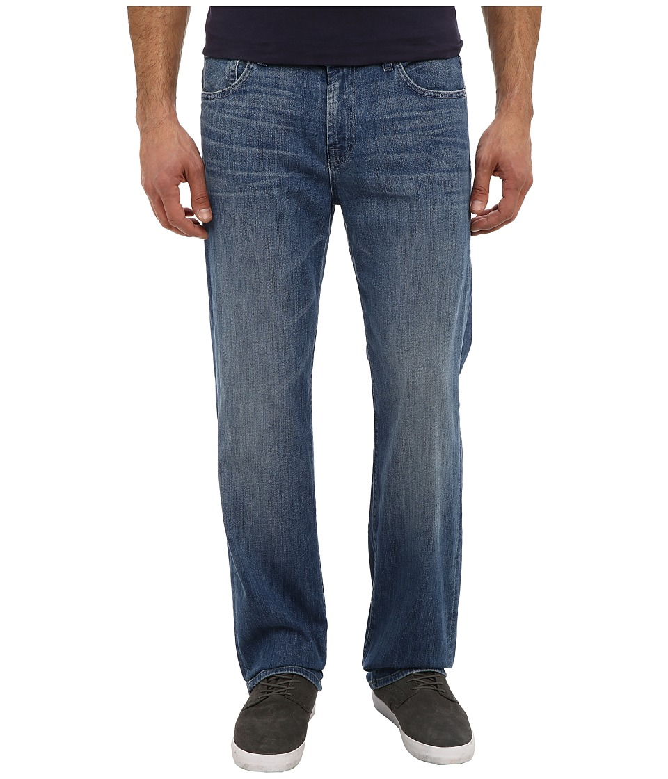 7 For All Mankind - Luxe Performance Austyn Relaxed Straight in Blue Mist (Blue Mist) Men's Jeans