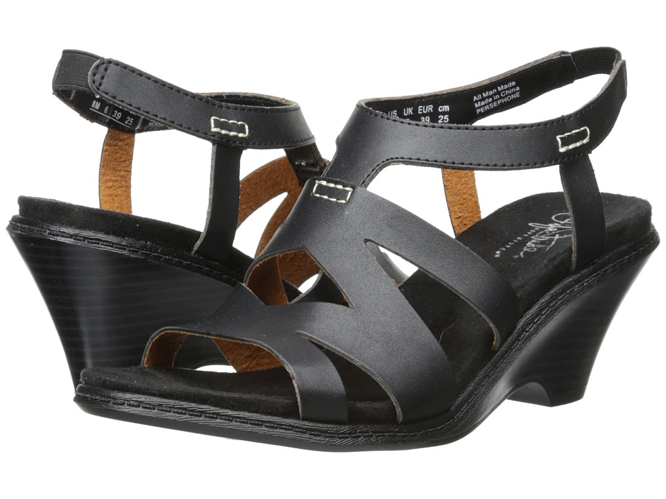 LifeStride - Persephone (Black) Women's Wedge Shoes