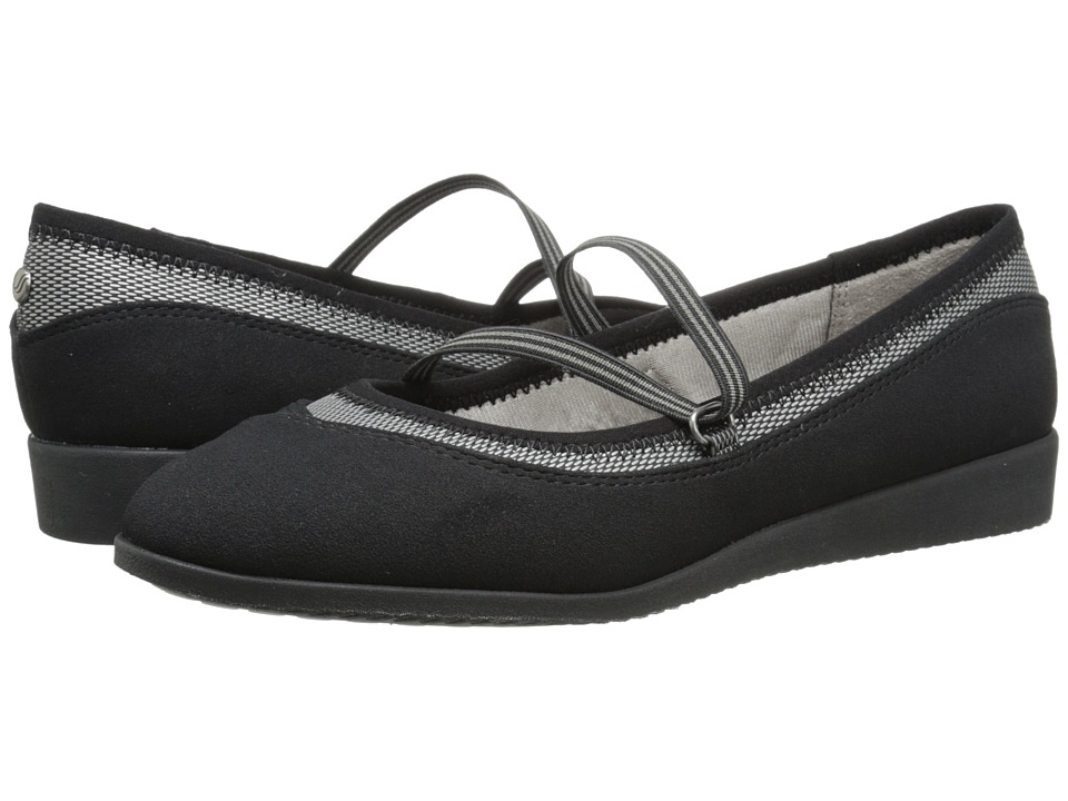 LifeStride - Ria (Black/Black Sole) Women's Slip on Shoes
