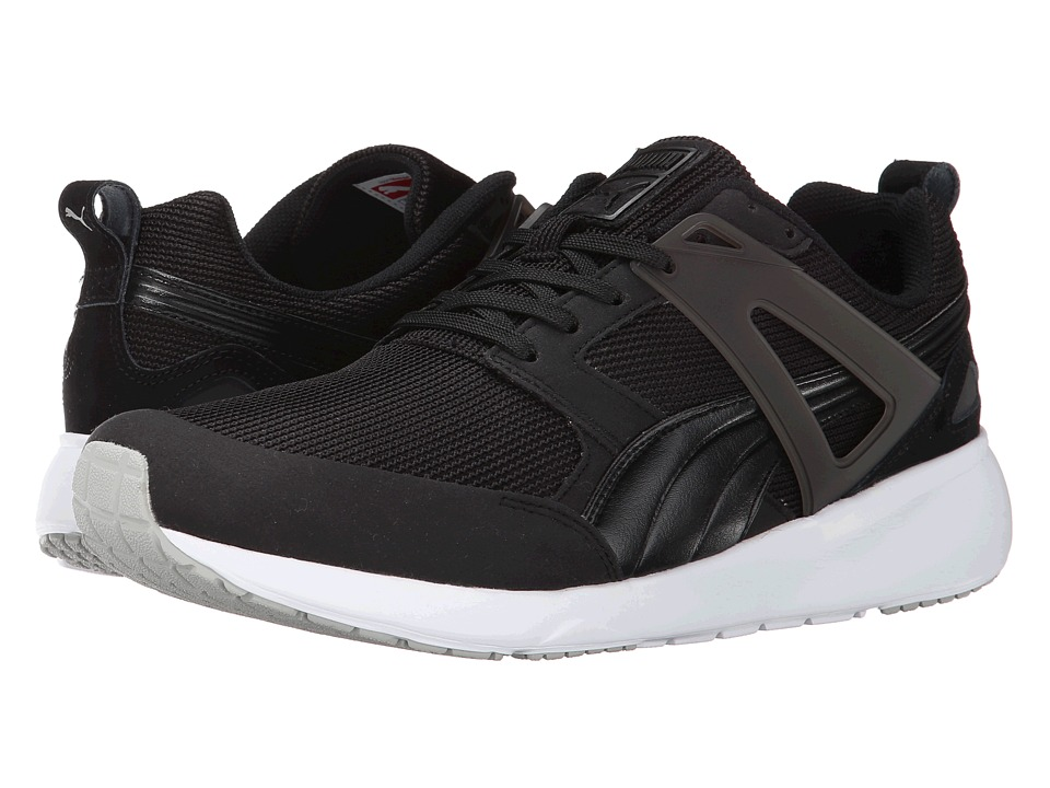 PUMA - Aril (Black/White) Men's Shoes