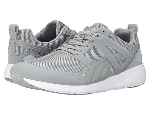 PUMA - Aril (Limestone Grey/Dark Shadow) Athletic Shoes