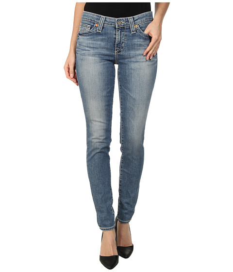 Big Star - Alex Midrise Skinny Jean in Crescent (Crescent) Women
