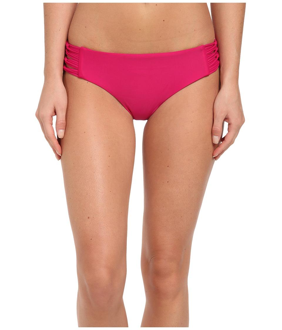 Body Glove - Smoothies Ruby Low Rise Bottom (Azalea) Women's Swimwear