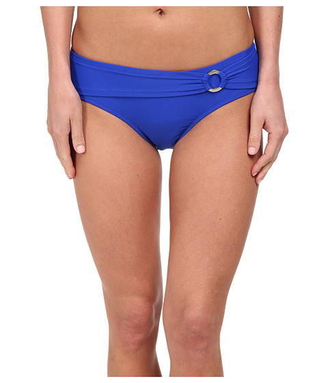 Body Glove - Smoothies Contempo Belted High Waist Bottom (Abyss) Women