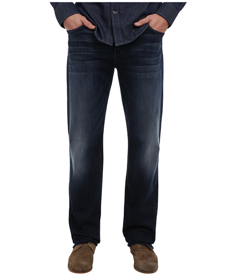 7 For All Mankind - Luxe Performance Carsen Easy Straight in Ocean Vista (Ocean Vista) Men