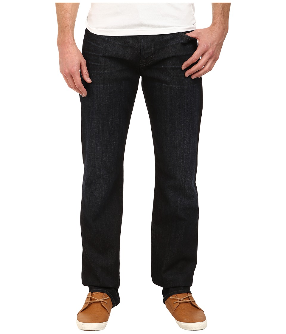 7 For All Mankind - Carsen Easy Straight w/ Clean Pocket in Movember 14 (Movember 14) Men's Jeans