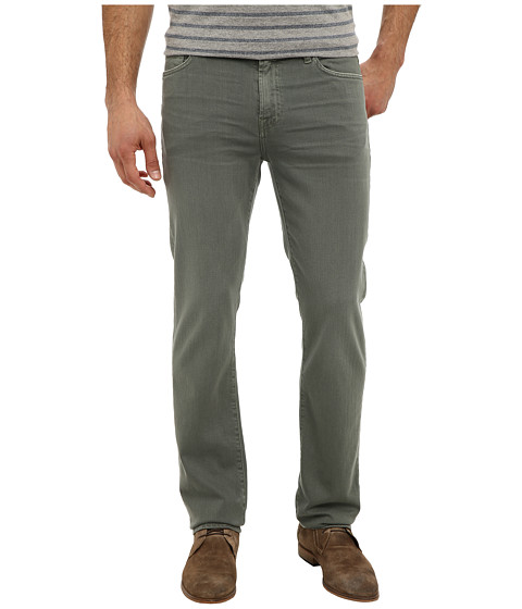 7 For All Mankind - Luxe Performance Slimmy Slim Straight in Twill Colors (Sage) Men's Casual Pants