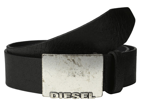 Diesel - Beppizzo Belt (Black) Men